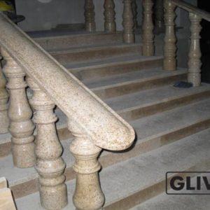Балясина из натурального гранита Ева, изображение, фото 1