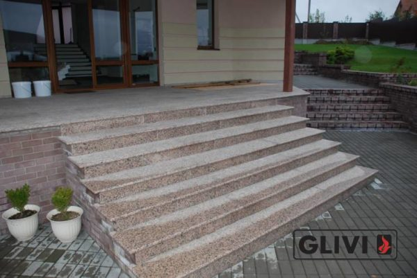 Гранитная лестница Валери, каталог лестниц из камня, изображение, фото 1