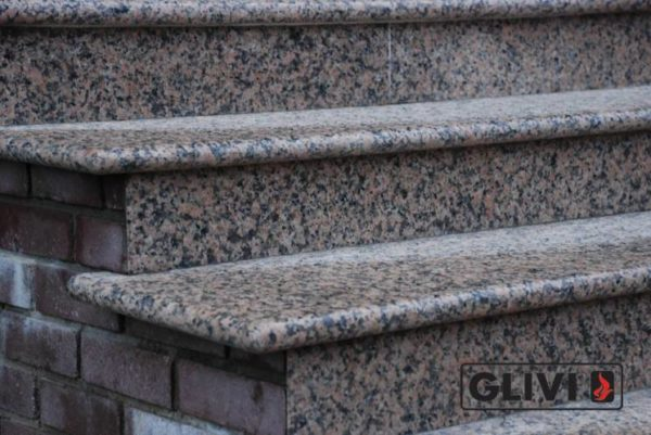 Гранитная лестница Валери, каталог лестниц из камня, изображение, фото 2