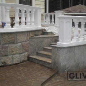Гранитная лестница Адель, каталог лестниц из камня, изображение, фото 1