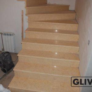 Лестница из натурального мрамора Глория, интернет-магазин лестниц, изображение, фото 1