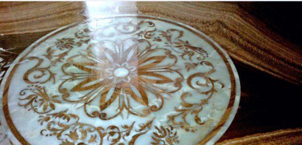 Мозаичный пол из натурального мрамора Лета, интернет-магазин полов, изображение, фото 3