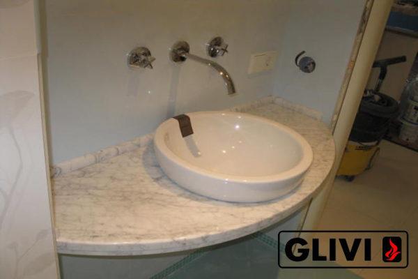 Столешница из натурального камня (мрамора) Лион, изготовить на заказ, изображение, фото 1
