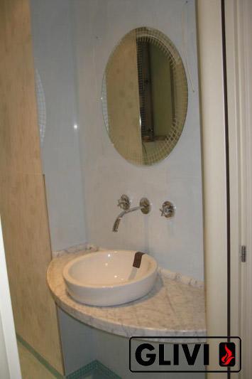 Столешница из натурального камня (мрамора) Лион, изготовить на заказ, изображение, фото 2