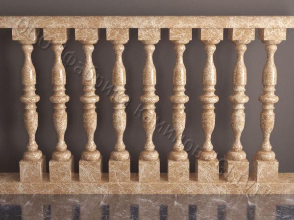 Балюстрада из камня (мрамора) Люсия, интернет-магазин (каталог) изделий из камня, изображение, фото 1