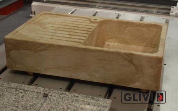 Мраморная мойка Майя, каталог раковин из камня, изображение, фото 1
