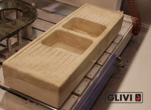 Мраморная мойка Майя, каталог раковин из камня, изображение, фото 2