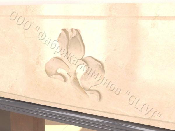 Двухсторонний (туннельный, стеклянный) камин Мэри, каталог каминов, изображение, фото 3