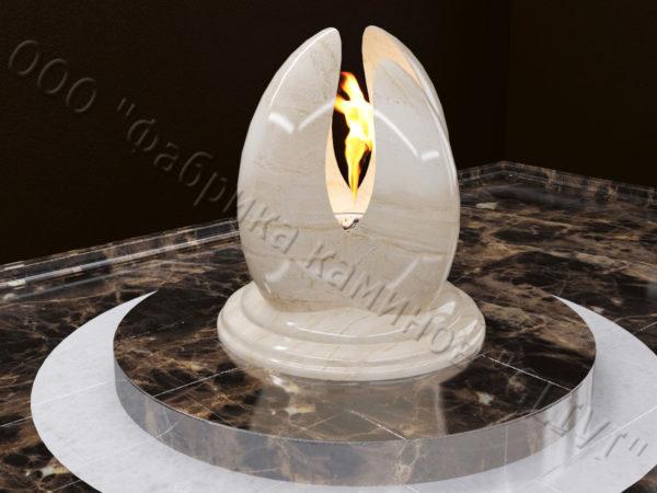 Напольный каминный портал (облицовка) для биокамина Мико, каталог (интернет-магазин) каминов, изображение, фото 3
