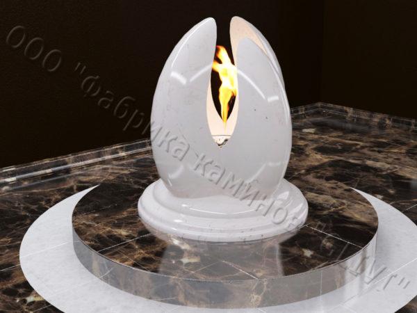Напольный каминный портал (облицовка) для биокамина Мико, каталог (интернет-магазин) каминов, изображение, фото 4