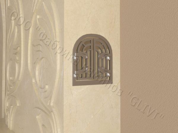 Мраморный камин с открытой топкой Моравия, каталог (интернет-магазин) каминов из мрамора, изображение, фото 5