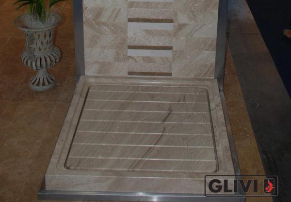 Поддон для душа Мускари мраморный, каталог душевых поддонов из камня, изображение, фото 1