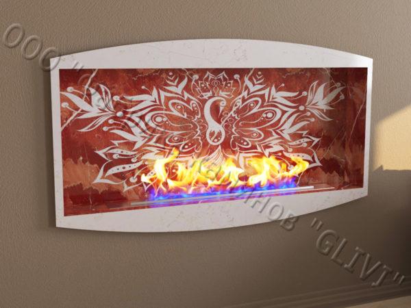 Напольный каминный портал (облицовка) для биокамина Огния, каталог (интернет-магазин) каминов, изображение, фото 4