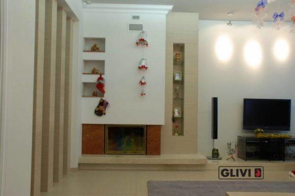 Камин по индивидуальному проекту Оранж, каталог (интернет-магазин) каминов из мрамора, изображение, фото 1