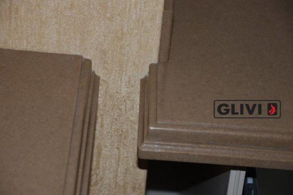 Столешница из искусственного (кварцевого) камня Пабло, изготовить на заказ, изображение, фото 5
