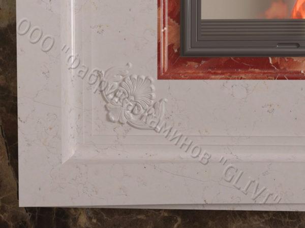 Двухсторонний (туннельный, стеклянный) камин Пиано, каталог каминов, изображение, фото 3