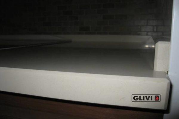 Столешница из искусственного (кварцевого) камня Плимут, изготовить на заказ, изображение, фото 3