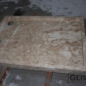 Поддон для душа Портулак мраморный, каталог душевых поддонов из камня, изображение, фото 1