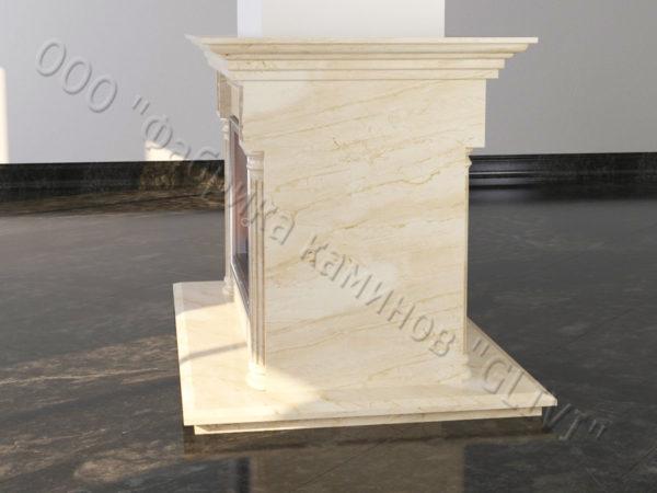 Двухсторонний (туннельный, стеклянный) камин Протея, каталог каминов, изображение, фото 2