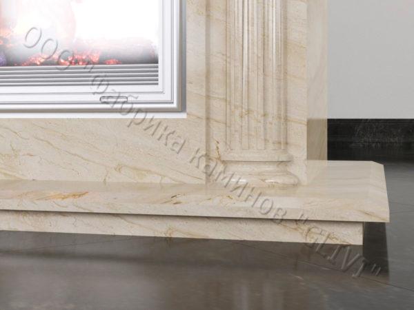 Двухсторонний (туннельный, стеклянный) камин Протея, каталог каминов, изображение, фото 3