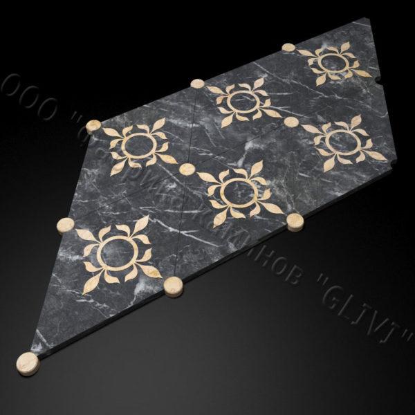 Плитка из натурального мрамора Рамб, изображение, фото 2