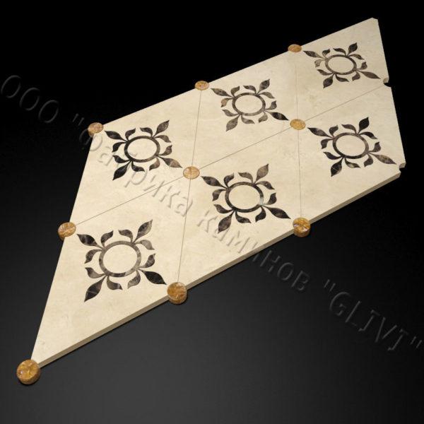 Плитка из натурального мрамора Рамб, изображение, фото 3