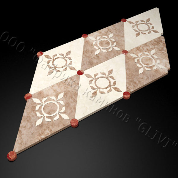 Плитка из натурального мрамора Рамб, изображение, фото 4