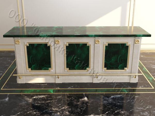 Барстойка из натурального оникса Рей, изображение, фото 1