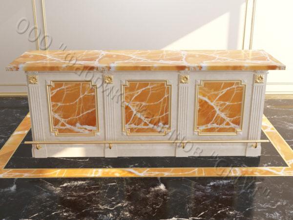 Барстойка из натурального оникса Рей, изображение, фото 6