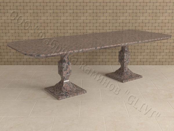 Стол из натурального камня (гранита) Рукс, интернет-магазин столов, изображение, фото 1