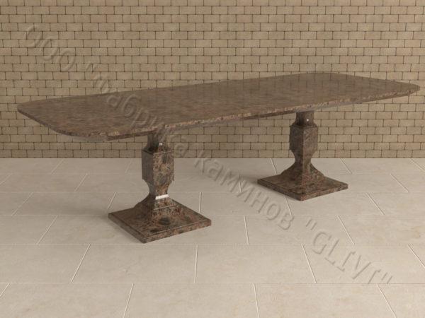 Стол из натурального камня (гранита) Рукс, интернет-магазин столов, изображение, фото 4