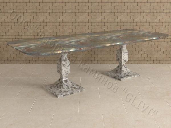 Стол из натурального камня (гранита) Рукс, интернет-магазин столов, изображение, фото 5