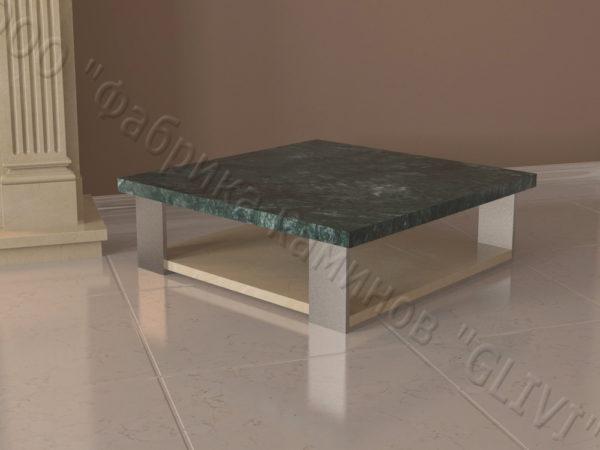 Стол из натурального камня (мрамора) Салли, интернет-магазин столов, изображение, фото 4