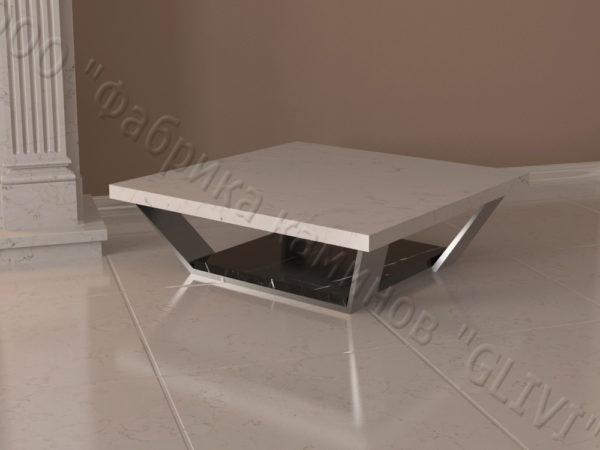 Стол из натурального камня (мрамора) Салли, интернет-магазин столов, изображение, фото 5
