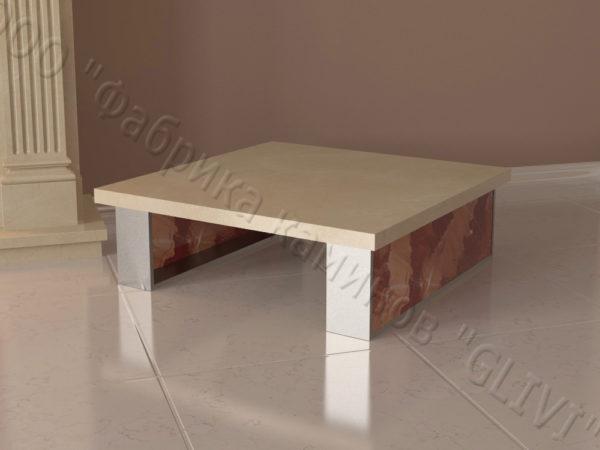 Стол из натурального камня (мрамора) Салли, интернет-магазин столов, изображение, фото 6