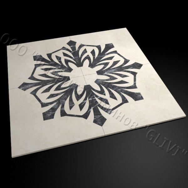 Плитка из натурального мрамора Санж, изображение, фото 3