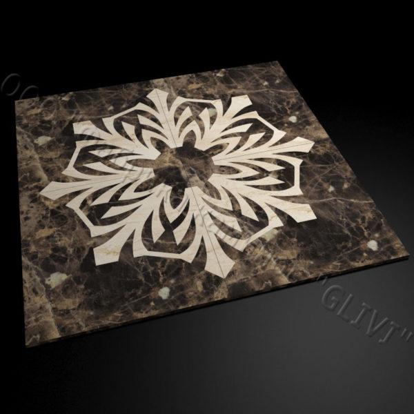 Плитка из натурального мрамора Санж, изображение, фото 2