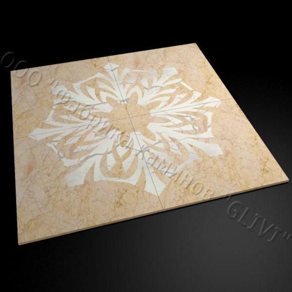 Плитка из натурального мрамора Санж, изображение, фото 1