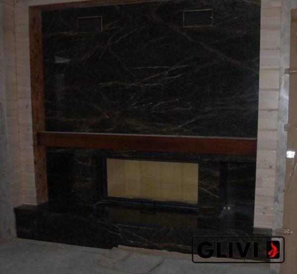 Камин по индивидуальному проекту Скайл, каталог (интернет-магазин) каминов из мрамора, изображение, фото 1