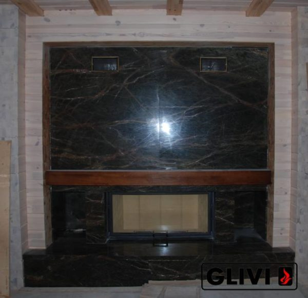 Камин по индивидуальному проекту Скайл, каталог (интернет-магазин) каминов из мрамора, изображение, фото 2