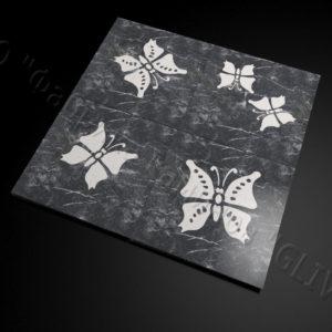 Плитка из натурального мрамора Селена, изображение, фото 1