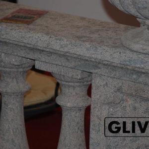Балюстрада из мрамора Селена, изображение, фото 1