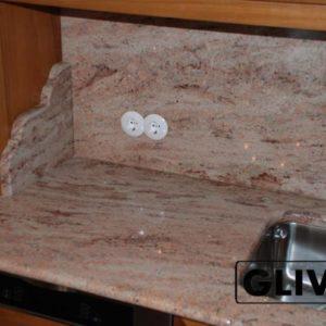 Столешница из натурального камня (гранита) Шумен, изготовить на заказ, изображение, фото 1