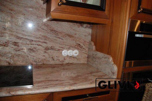 Столешница из натурального камня (гранита) Шумен, изготовить на заказ, изображение, фото 3