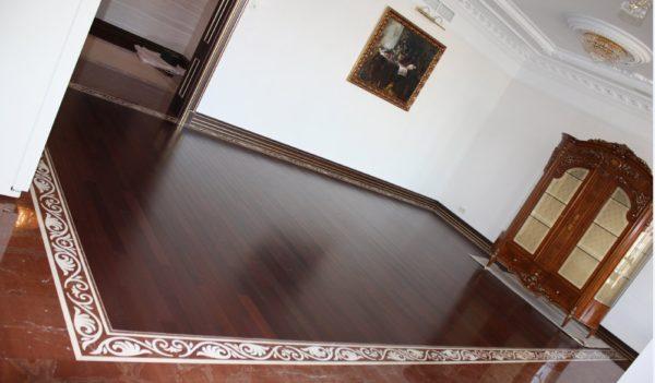 Мозаичный пол из натурального мрамора Стикс, интернет-магазин полов, изображение, фото 2