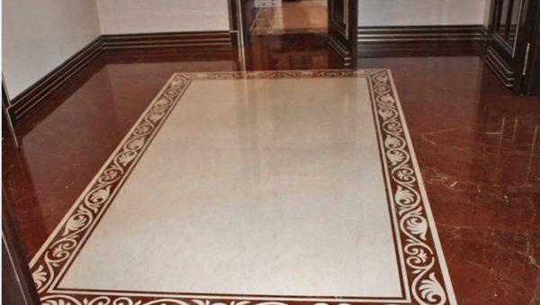 Мозаичный пол из натурального мрамора Стикс, интернет-магазин полов, изображение, фото 3