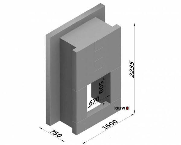 Мраморный каминный портал (облицовка) Тасмания, каталог (интернет-магазин) каминов из мрамора, изображение, фото 8