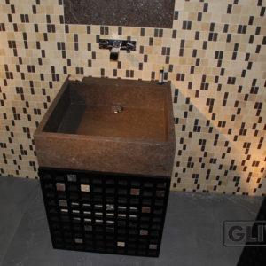 Мраморная раковина (умывальник) Тимо, каталог раковин из камня, изображение, фото 1
