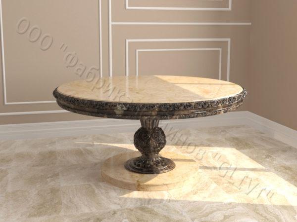 Стол из мрамора Тривия I