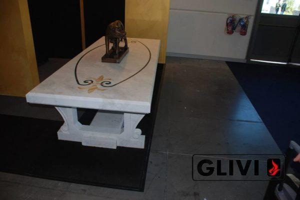 Стол из натурального камня (мрамора) Турин, интернет-магазин столов, изображение, фото 1